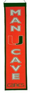 Winning Streak NCAA Miami Man Cave Banner