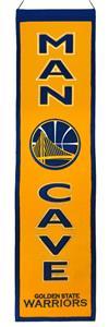 Winning Streak NBA Golden State Man Cave Banner