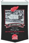 Winning Streak NHL Joe Louis Arena Banner