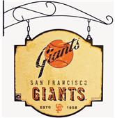 Winning Streak MLB Giants Vintage Tavern Sign
