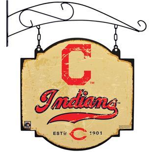 Winning Streak MLB Indians Vintage Tavern Sign