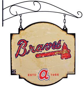 Winning Streak MLB Braves Vintage Tavern Sign