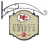 Winning Streak NFL Chiefs Vintage Tavern Sign