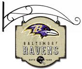 Winning Streak NFL Ravens Vintage Tavern Sign