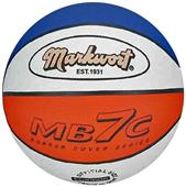 Markwort MB7 Red/White/Blue Rubber Basketballs