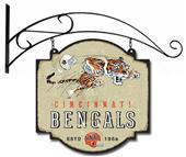 Winning Streak NFL Bengals Vintage Tavern Sign