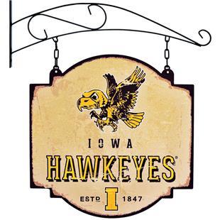 Winning Streak NCAA Iowa Vintage Tavern Sign