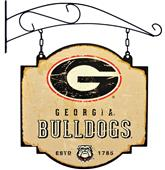 Winning Streak NCAA Georgia Vintage Tavern Sign