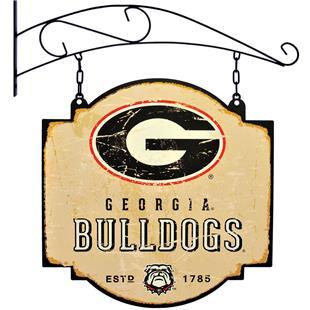 Winning Streak NCAA Georgia Vintage Tavern Sign
