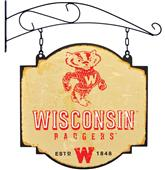 Winning Streak NCAA Wisconsin Vintage Tavern Sign