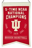 Winning Streak NCAA Indiana 5x Champs Banner