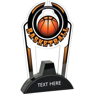 "Hasty 7.5"" Epic TRUacrylic Basketball Trophy"