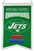 Winning Streak NFL Jets Super Bowl Banner