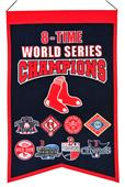 Winning Streak MLB Red Sox 8x Champs Banner