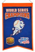 Winning Streak MLB Mets World Series Champs Banner
