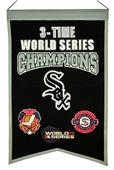 Winning Streak MLB White Sox 3x Champs Banner