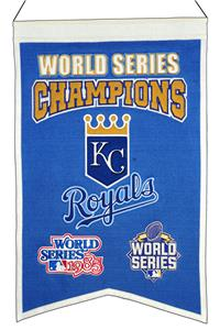 Winning Streak MLB Royals Champs Banner