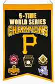 Winning Streak MLB Pirates 5x Champs Banner