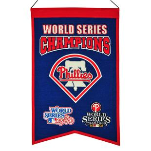 Winning Streak MLB  Phillies Champs Banner