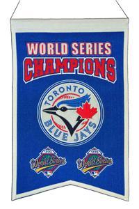 Winning Streak MLB Blue Jays Champs Banner