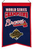 Winning Streak MLB Braves Champs Banner