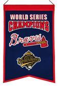 Winning Streak MLB Braves Champs Banner
