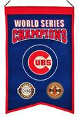 Winning Streak MLB Cubs World Series Champs Banner