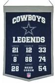 Winning Streak NFL Dallas Cowboys Legends Banner