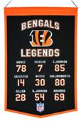 Winning Streak NFL Bengals Legends Banner