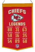 Winning Streak NFL Chiefs Legends Banner