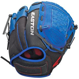 Easton Z-Flex Youth Utility Royal Baseball Glove