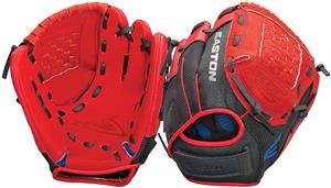 Easton Z-Flex Youth Utility Red Baseball Glove
