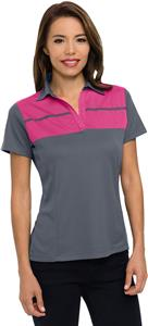 Tri Mountain Women's Streak Short Sleeve Polo