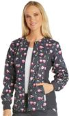 Cherokee Women's Zip Front Knit Warm-Up Jacket
