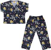 Tooniforms Kids Top and Pant Scrub Set