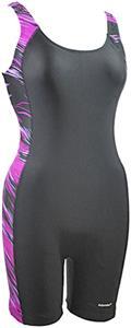 Adoretex Womens Direction Piping Unitard Swimsuit