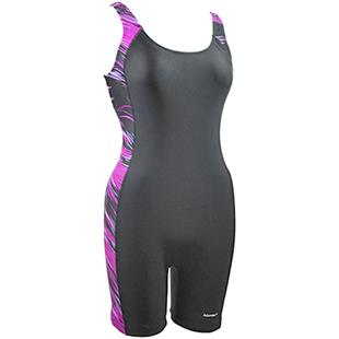 Adoretex Womens Direction Piping Unitard Swimsuit