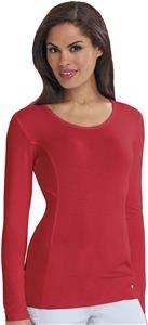 Careisma Women's Long Sleeve Underscrub Knit Tee