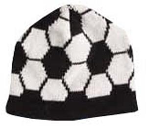 Soccer Ball Beanie - unique soccer gifts   SN0048