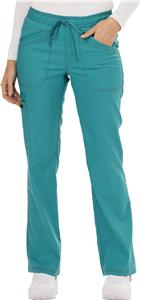 Dickies Womens Mid Rise Straight Leg Scrub Pants