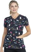 Dickies Women's Modern Classic V-Neck Scrub Tops