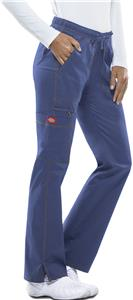 Dickies Womens Low Rise Straight Leg Scrub Pants