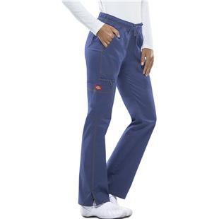 Dickies Womens Low Rise Straight Leg Scrub Pants