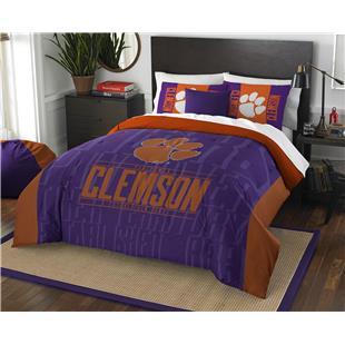 Northwest Clemson Full/Queen Comforter & Shams