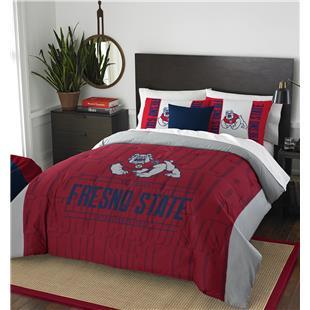 Northwest Fresno St. Full/Queen Comforter & Shams