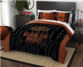 Northwest Oklahoma St Full/Queen Comforter & Shams