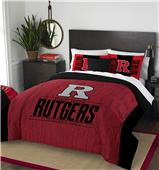Northwest Rutgers Full/Queen Comforter & Sham