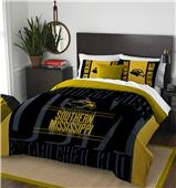 Northwest Southern Miss Full/Queen Comforter/Shams