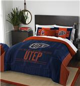 Northwest UTEP Full/Queen Comforter & Shams