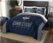 Northwest UConn Full/Queen Comforter & Shams